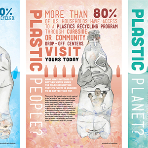 Waterbottle Recycling Campaign | Poster Art